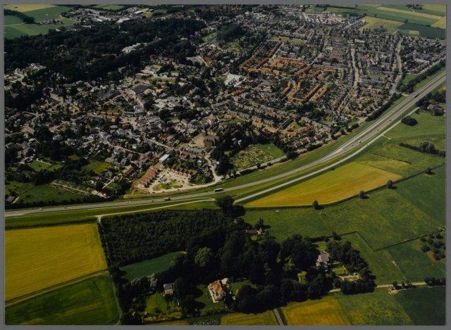 Luchtfoto Spaensweerd uit 1997.
