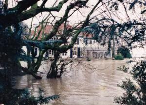 Spaensweerd - overstroming januari 1995